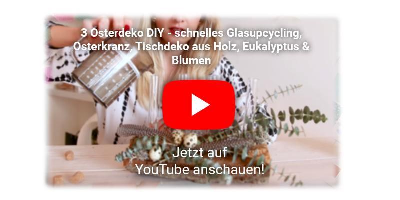 Osterdekoration mit Moos Youtube Video
