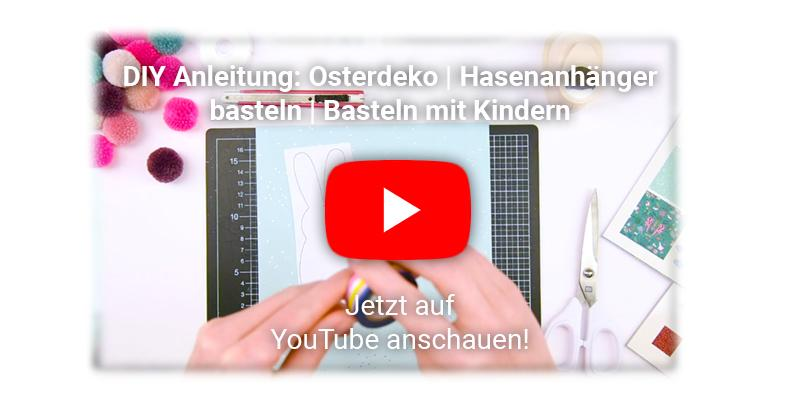 Osterdekoration mit Kindern basteln YouTube Video