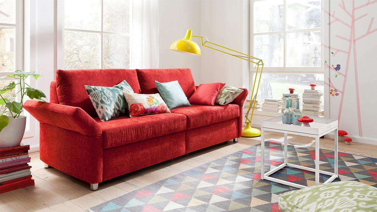 Sitzgarnitur Wohnzimmer Rot – Caseconrad