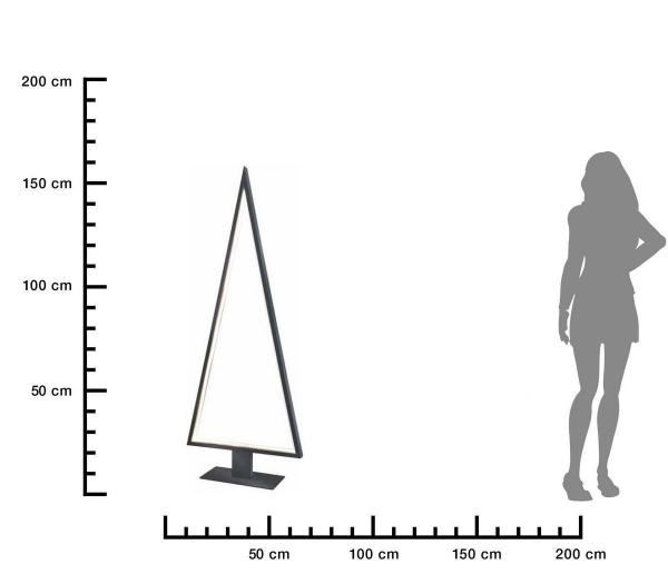 Aussenleuchte-PINE-160cm-size