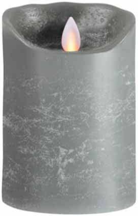 LED-Kerze-FLAME-grau-12,5cm-main