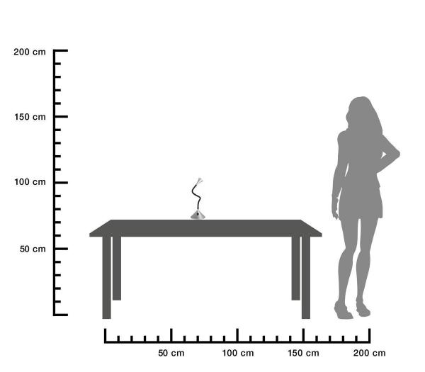 Tischleuchte-VIPER-grau-size