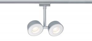 URail-LED-Spot-Double-Pellet-2x4W-Chrom-matt-Weiss-dimmbar-main