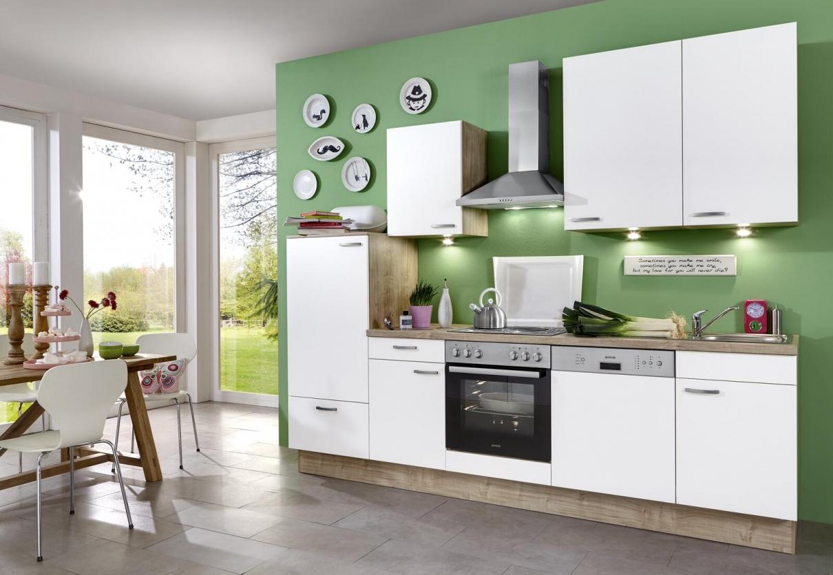 Kleine Wohnküche einrichten