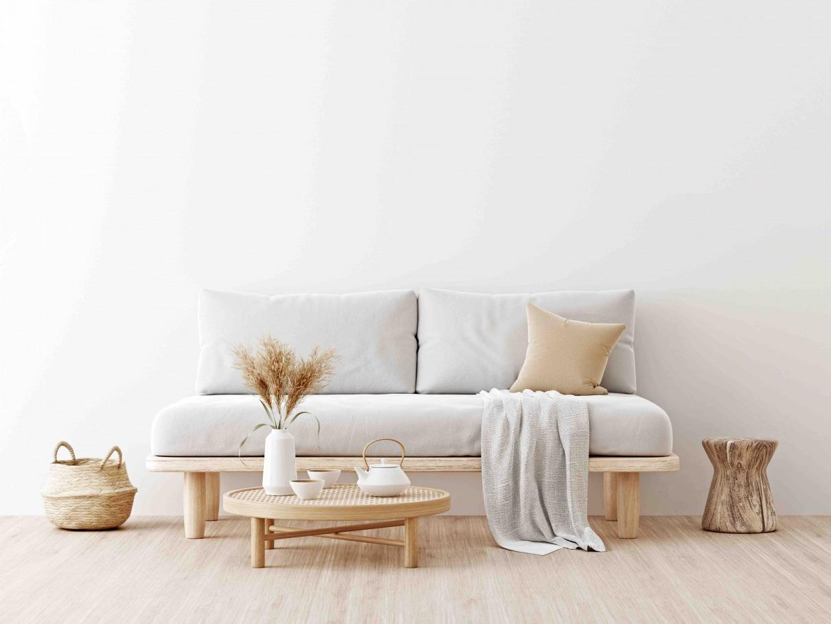 Japandi Wohnzimmer