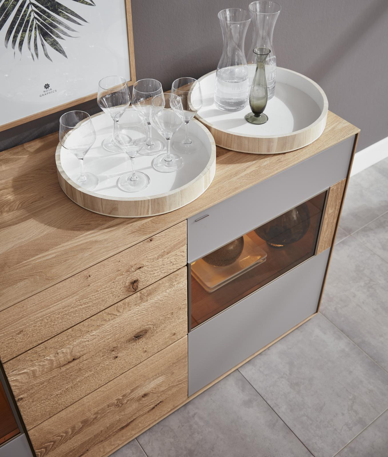 Highboard aus Holz