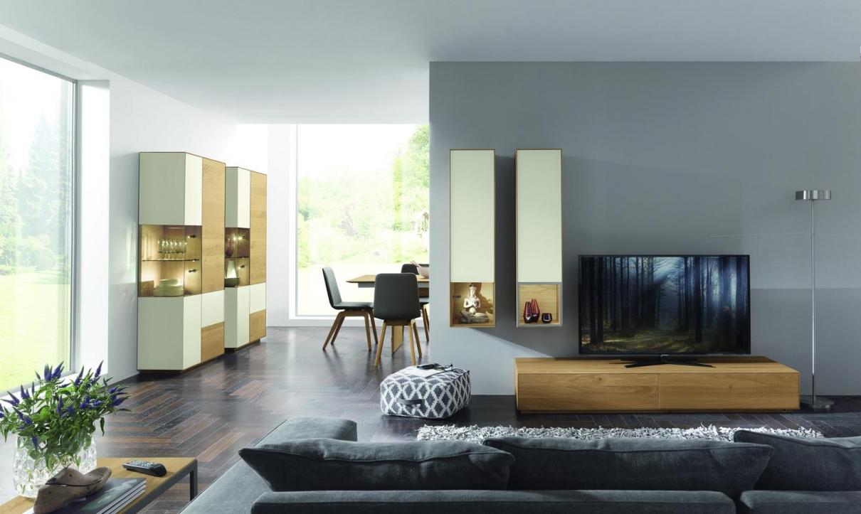 Wöstmann Esszimmer und Wohnzimmer Möbel aus Holz