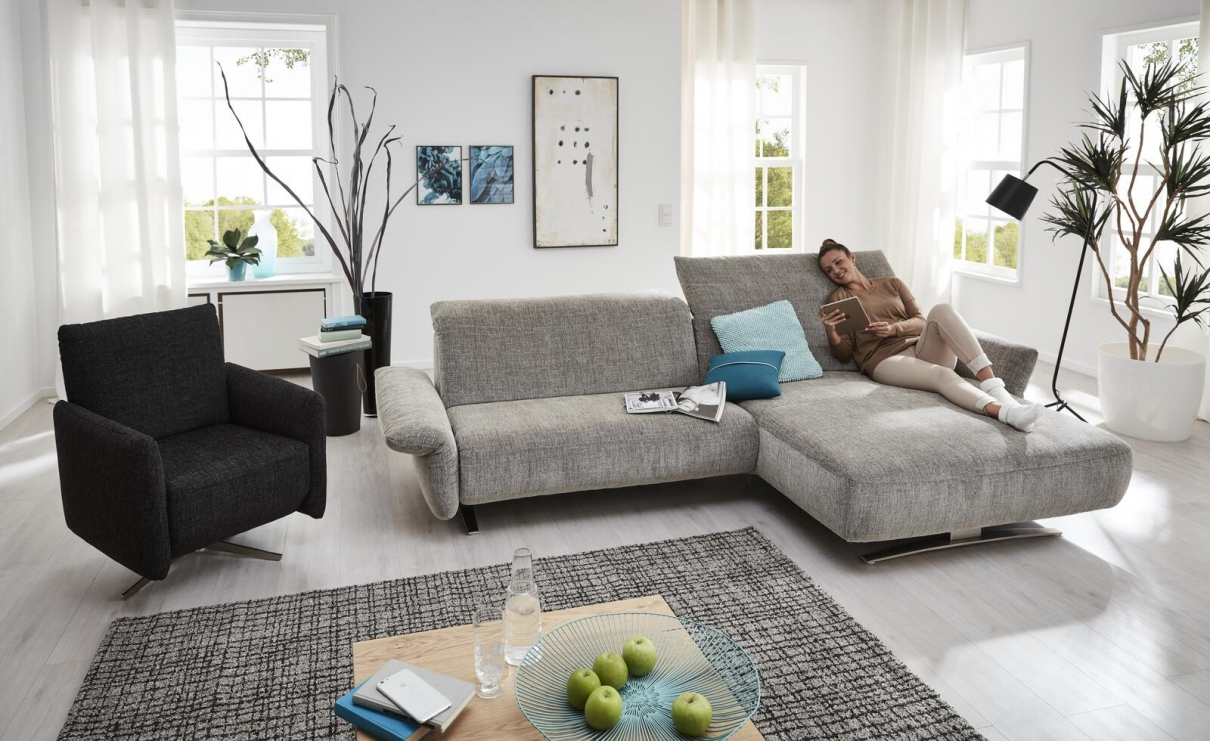 Stoff Sofa