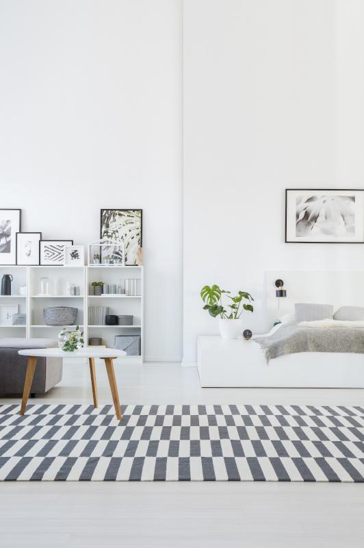 Helle Einzimmerwohnung