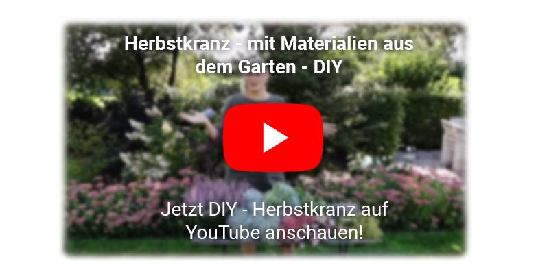 Herbstkranz DIY YouTube Video