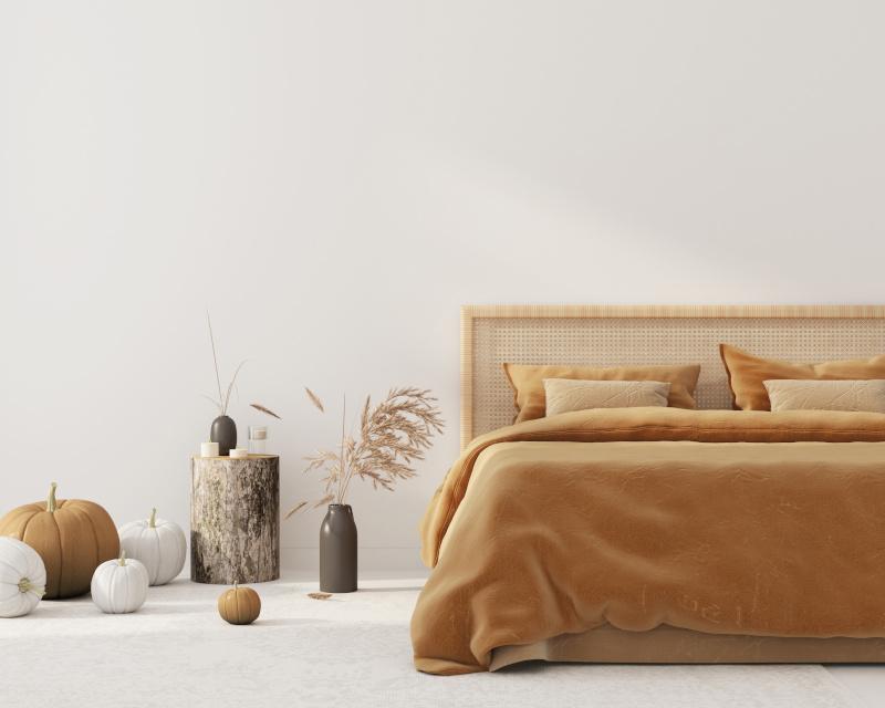 Schlafzimmer Deko Herbst