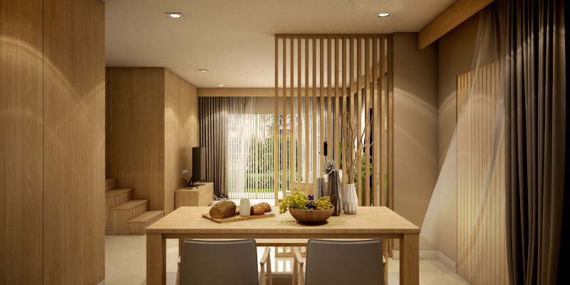 Raumteiler Holz
