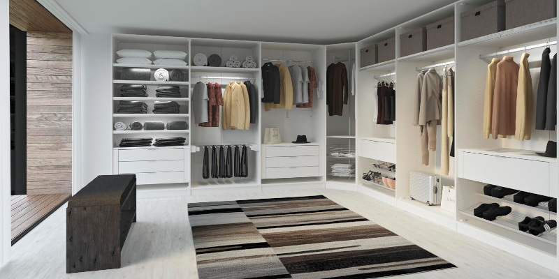 Jutzler Kleiderschrank offen gestaltet